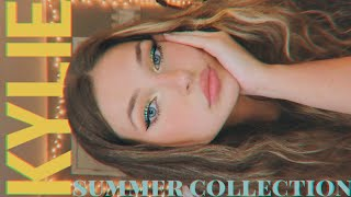 I tried kylie's new collection... (first impressions & review) under the sea