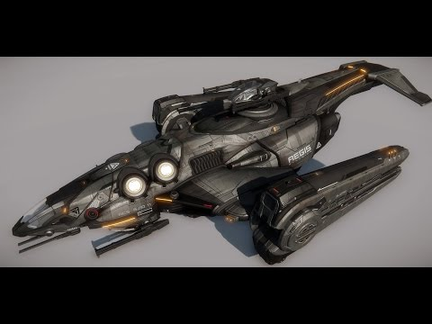 Star Citizen - Aegis Redeemer, Constellation Phoenix, Mustang Omega, and the The Esperia Glaive