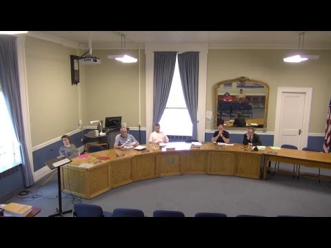 City of Plattsburgh, NY Meeting  5-18-17