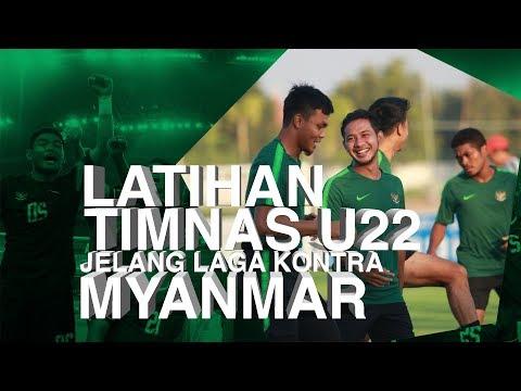 HIGHLIGHTS: Latihan Timnas U-22 Jelang Laga Kontra Myanmar
