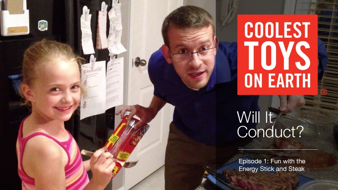 Coolest Toys On Earth : Energy stick will it conduct coolest toys on earth