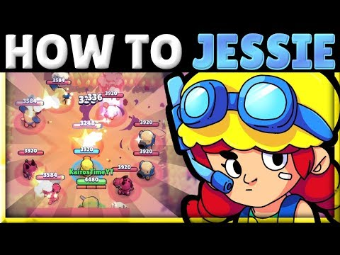 How to Use & Counter Jessie! | 3 Best Turret Positions! | Jessie Tech! | Brawl Stars Guide