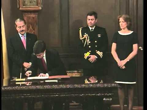 Posesión de Luis Alberto Moreno como Embajador de Colombia en EE.UU -14 de septiembre de 1998-