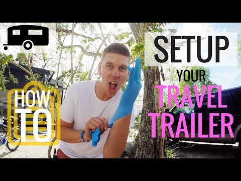 RV NEWBIE? HOW TO SET UP YOUR CAMPSITE 🙌 Full Time Travel Family of 6