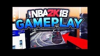 NBA 2K18 PLAYING PARK WITH FRIENDS! Why is there so much lag...