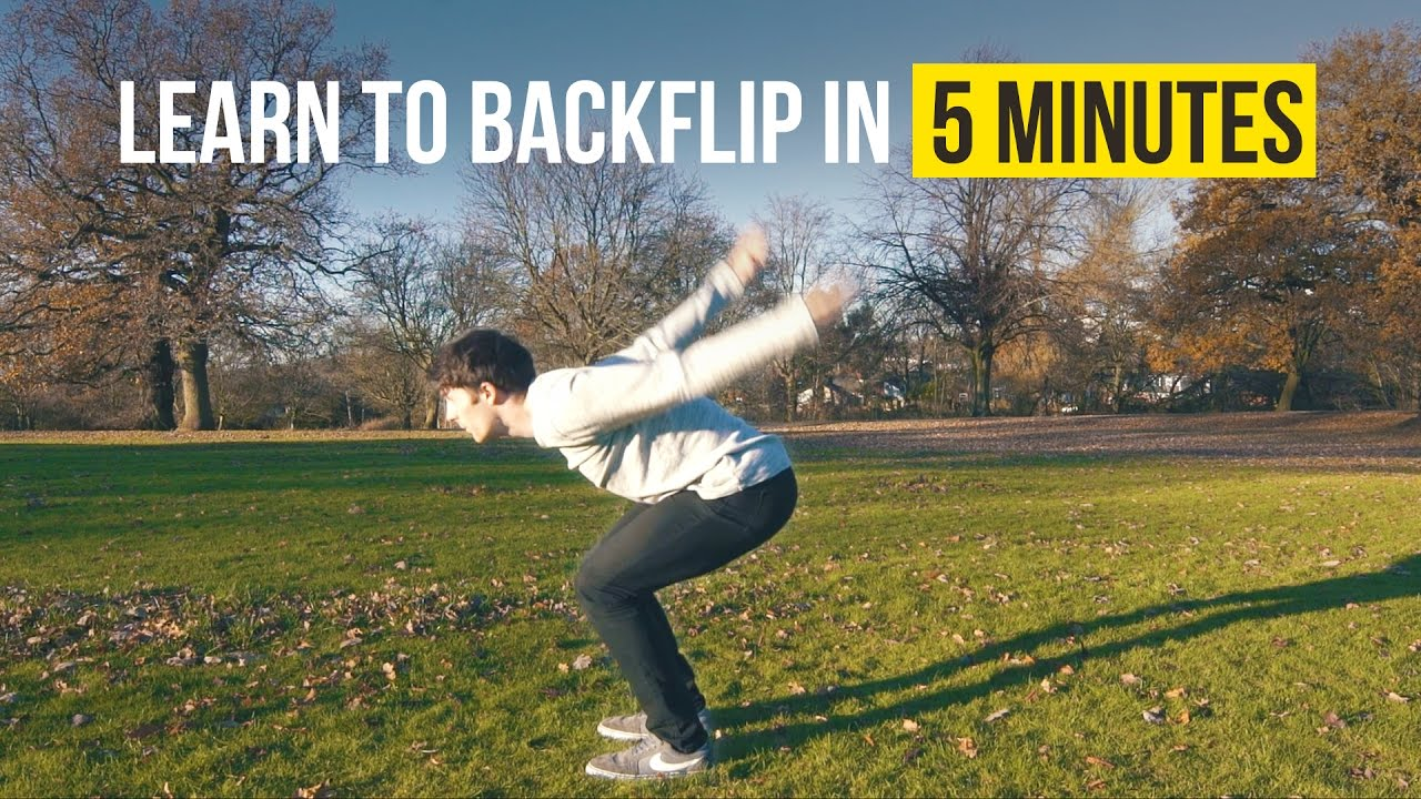 How to learn to do flips at home: safety and technology 60