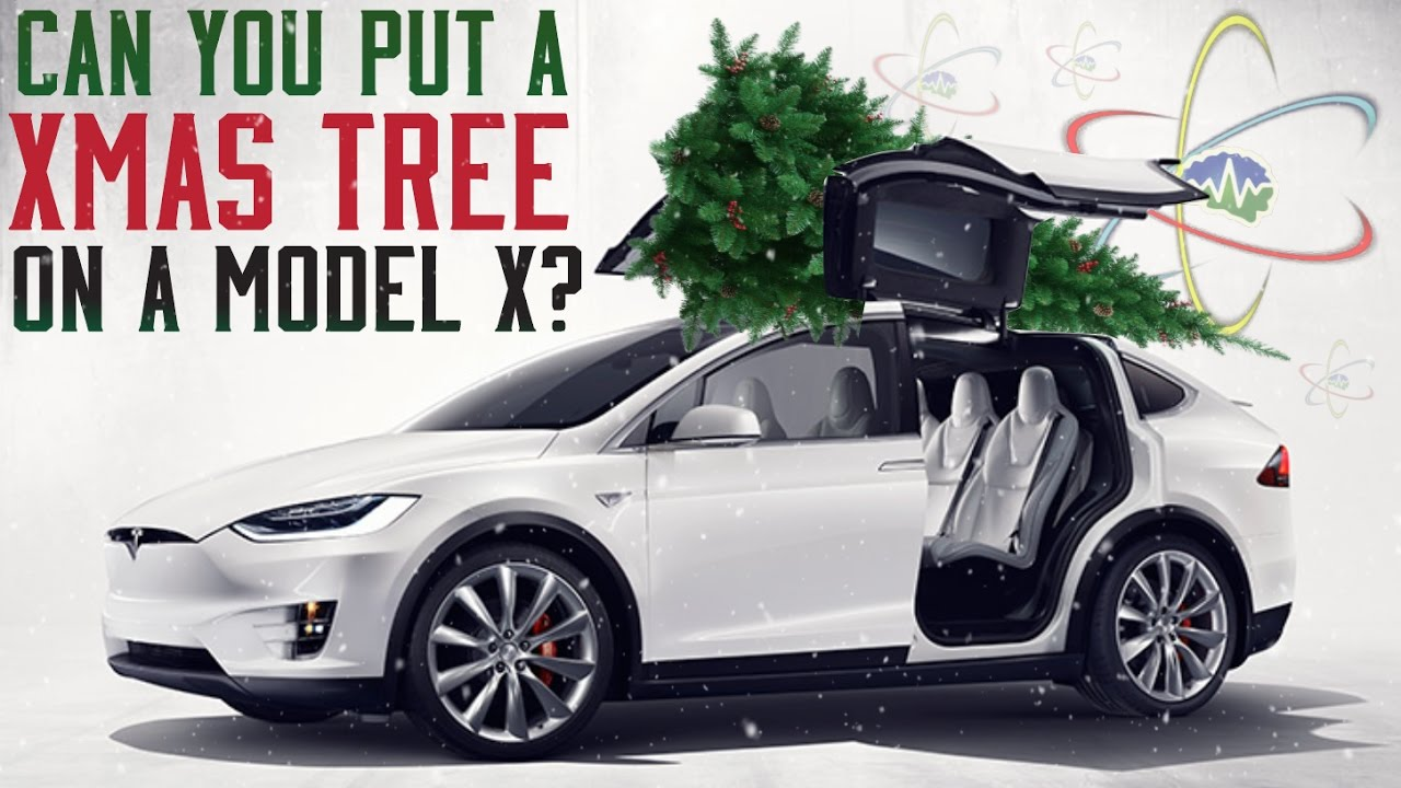 Can You Put A Christmas Tree On A Model X?