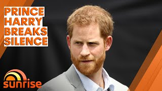 Prince Harry BREAKS SILENCE from London before reunion with Prince William | Sunrise