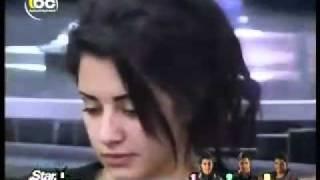خناقة حسام وسارة ستار اكاديمى 8 الجزء الثالث