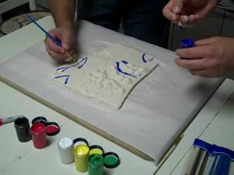 How To Create a Salt Dough Map converted - YouTube