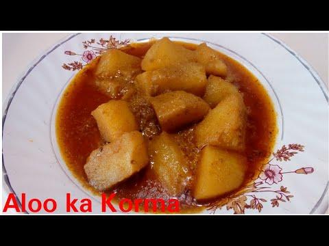 Aloo ka korma by Kitchen with Rehana