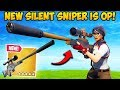 Download *NEW* SILENCED SNIPER IS INSANE! - Fortnite Funny Fails and WTF Moments! #436