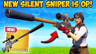 *NEW* SILENCED SNIPER IS INSANE! - Fortnite Funny Fails and WTF ...