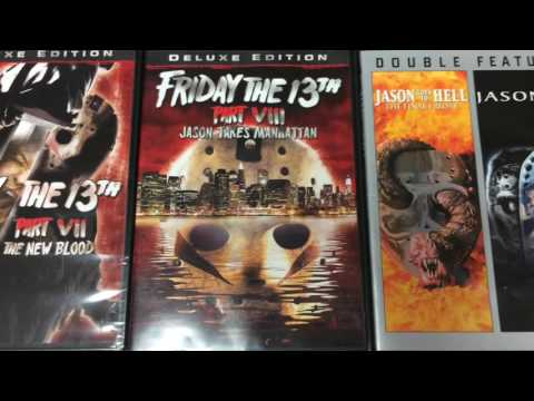 Friday The 13th DVD Collection Complete +...