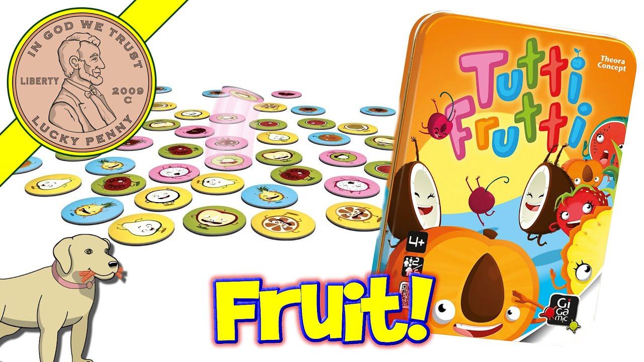 Tutti frutti: cute and quick! • the game aisle.