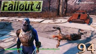 Fallout 4 PS4 Прохождение 94 Радиосигналы вышки 0BB 915 и трейлерный парк Фидлерс Грин