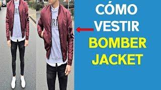 CÓMO VESTIR UNA BOMBER JACKET   Distintos Outfits