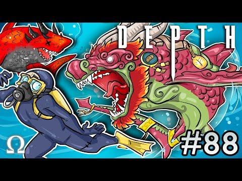 EARTH DRAGON THRESHER SHARK! (LUNAR EDITION) | Depth #88 Divers vs Sharks Ft. Cartoonz