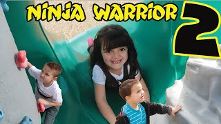 NINJA WARRIOR 2 | Play Ground Competition!!!
