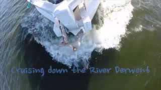 Cruising Down the River Derwent