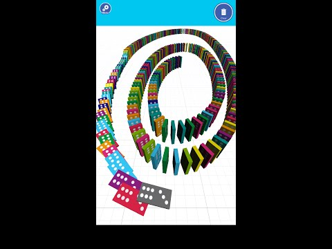 Easy Toppling Dominoes -  Smartphone app