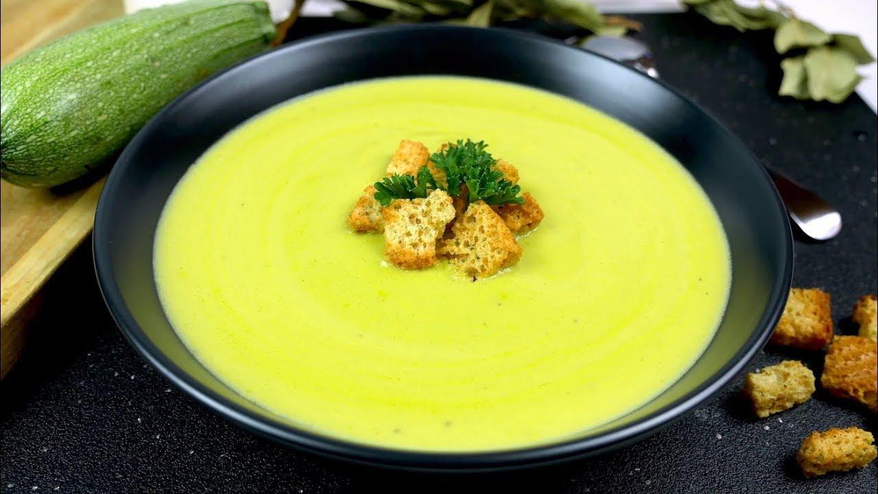 receta para hacer crema de calabaza verde