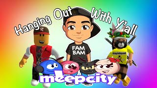 Hanging Out with Peeps in Meep City - ROBLOX