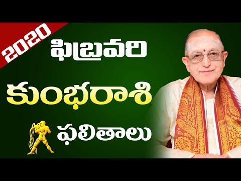 Kumbha Rasi Phalalu February 2020 | Kumbha Rasi Phalalu 2020 | Kameswara Sarma | Sunrise Tv Telugu