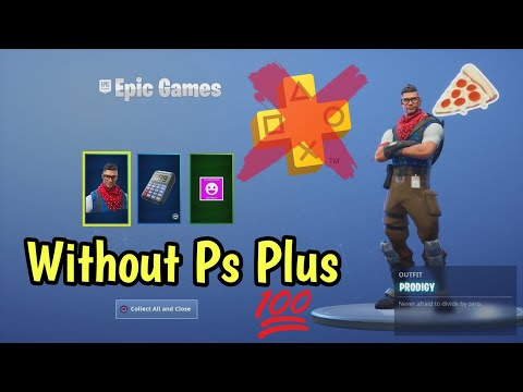 How to get fortnite ps plus skin without ps