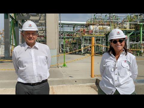 Visita a la refinería de Salamanca en Guanajuato