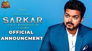 OFFICIAL: Sarkar Latest Update