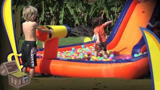 Buccaneer Water Slide Video