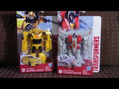 DGS Starscream And Bumblebee Review