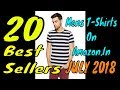 20 Best Sellers Mens T Shirts Amazon India July 2018