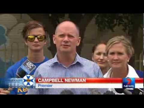 Campbell Newman speaks with forked tongue
