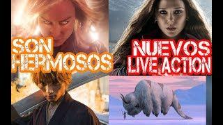 Capitana Marvel y el Live Action de Bleach son Bellisimos, Nuevas series de Scarlett, Avatar y Loki