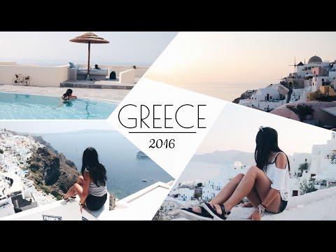GREECE TRAVEL DIARY - Santorini, Athens, Paros, Naxos & Peloponnese 2016