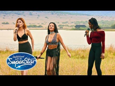 "DSDS 2018 | Gruppe 7 - Emilija, Matty, Toranj mit ""Umbrella"" von Rihanna"