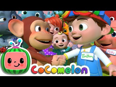 My Name Song | ABCkidTV Nursery Rhymes & Kids Songs