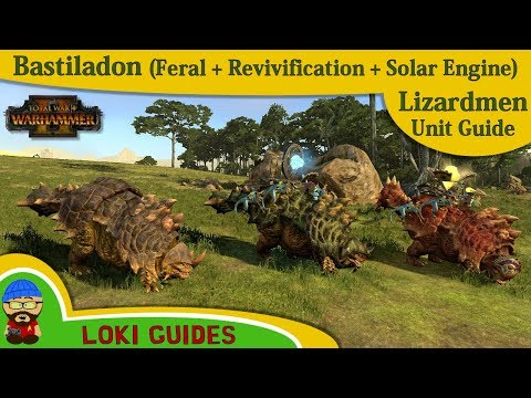 Lizardmen Unit Guide: Bastiladon, Revivification & Solar Engine - Total War: Warhammer 2 Army Review