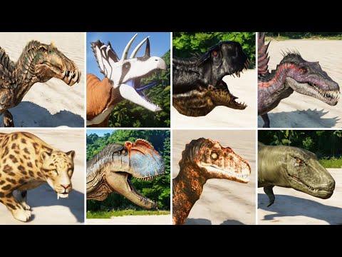 ALL MODDED DINOSAURS (PART 3) - Jurassic World Evolution  