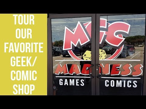 BEST COMIC STORE EVER | MADNESS GAMES & COMICS