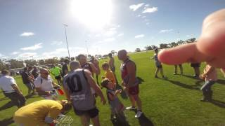 Boort Legends Game - GoPro footage through the teams Lake Marmal and Yando