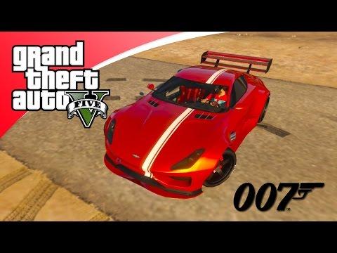 GTA V Freeroam - NIEUWE SPECTER JAMES BOND AUTO!! (GTA 5 Online)