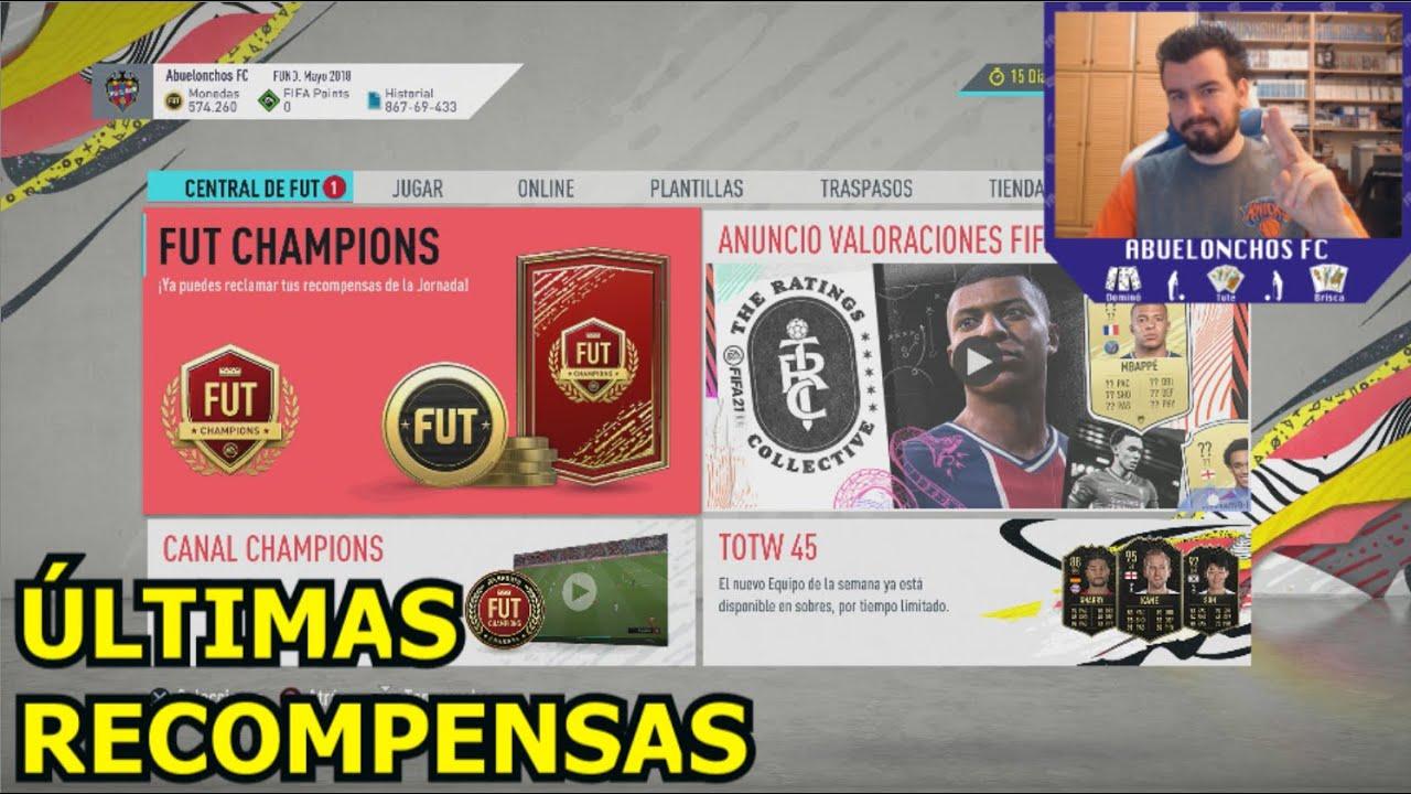LAS ÚLTIMAS RECOMPENSAS DE FUT CHAMPIONS EN FIFA 20
