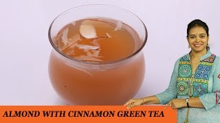 Almond & Cinnamon Green Tea - Mrs Vahchef