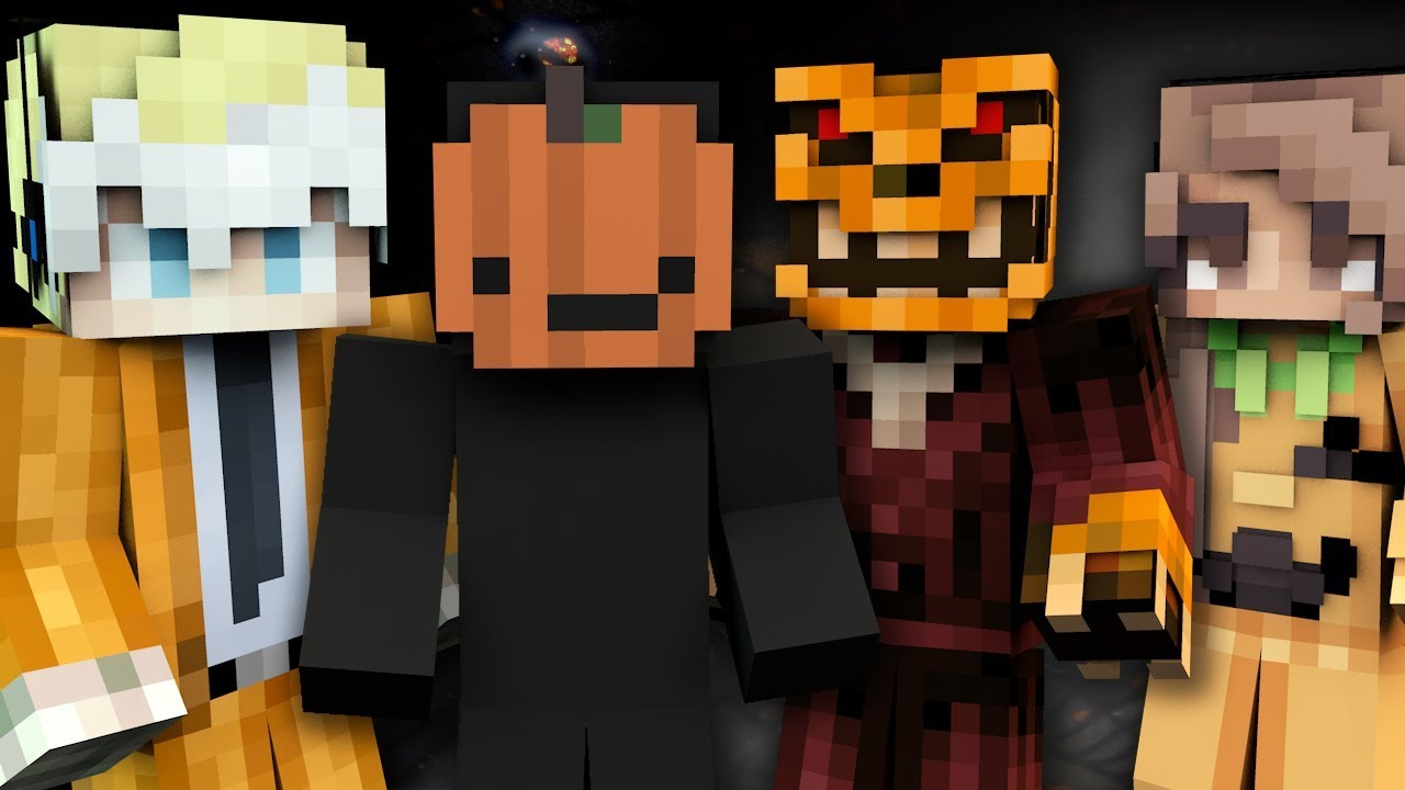 10 Halloween Minecraft Skins Top Minecraft Skins Pc Java Better Together Youtube