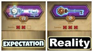 Hearthstone: Expectation vs Reality - Arena!