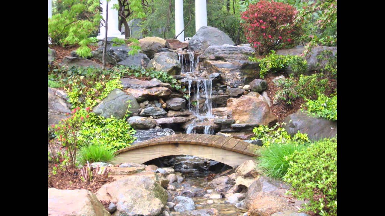 Backyard Waterfall Ideas - YouTube on Waterfall Ideas For Garden id=44767