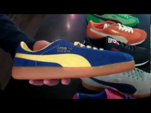 cdb31acfaa079 Puma Suede Classic Inca Gold On Feet Sneaker Review - YouTube